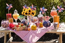 Summer Candy Buffet