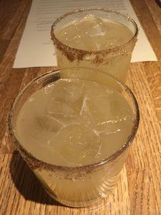Ginger-pear margaritas at Frontera Grill.