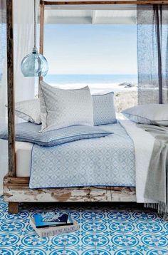 Beautiful Beach Master Bedroom Ideas - Best Home Design Ideas Beach House Style, Beach Cottage Style, Coastal Style, Beach House Decor, Home Decor, Villa Design, House Design, Design Design, Design Ideas