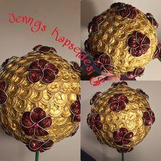 Gartenkugel mit Blumen  30cm DM Nespresso, Dm, Christmas Bulbs, Coffee, Holiday Decor, Crafts, Scribble, Hipster Stuff, Bricolage