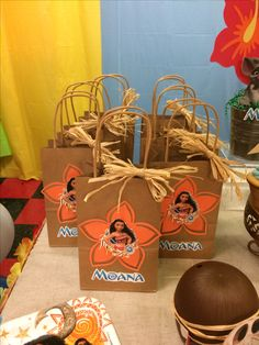 Moana Birthday ShowerBox Events Like us on FB #moanabirthday #myshowerbox
