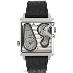 bfd342de4cb Mens STORM Dual Square Silver Watch DUAL-SQUARE-SILVER Armbanduhr