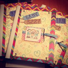 Girl Scout Journals I made as gift for Daisy/Brownie Bridging