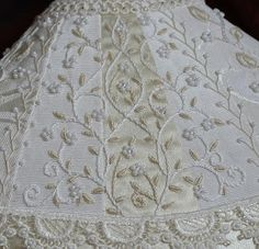 Beautiful embroidery from Manya