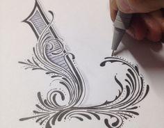 Sketch in my blackbook by Luis LEGZ Garcia