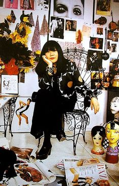 Fashion designer Anna Sui, brought to you by the big D!