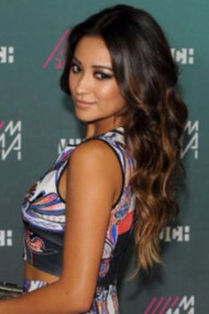 Shay Mitchell Ombre Hair