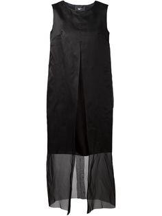 Yang Li   Black Sheer Layered Dress   Lyst