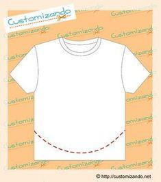 Shirt Refashion, T Shirt Diy, Diy Clothing, Sewing Clothes, Sewing Hacks, Sewing Crafts, Cut Tee Shirts, Merian, Girls Fashion Clothes