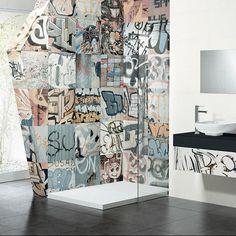 Graffiti i badrummet
