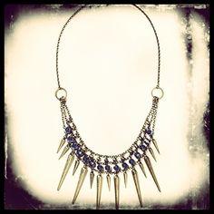Stones & Cones necklace www.mymarkstore.com/mopitz