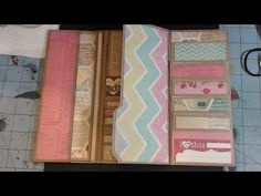Wallet Mini Album - Pinterest Inspired #1- Part 2 - YouTube