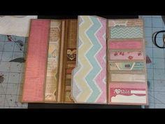 Wallet Mini Album - Pinterest Inspired #1- Part 2 - YouTube