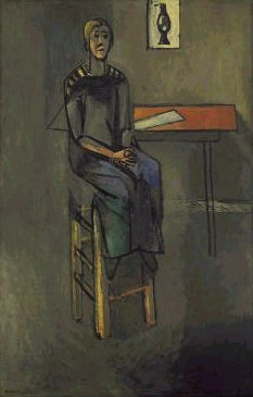 1916-Henri Matisse-woman on high stool.jpg
