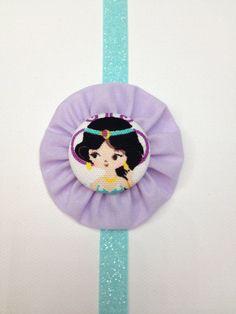 Lavender Baby Girl Headband  Toddler Headband by catchthatrainbow