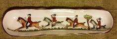 Coalport Marked Backstamp Hand Painted English Fine Bone China Hunting Scene Oval Mint Serving Tray by TreasuredMomentz on Etsy https://www.etsy.com/listing/229651312/coalport-marked-backstamp-hand-painted