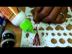 How-to make paper quilling jewellery earrigs for beginers and professionals. - YouTube