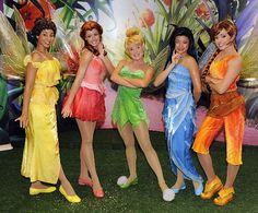 Disney Fairies Iridessa, Rosetta, Tinker Bell, Silvermist and Fawn in a pose - Popular Tinker 2019 Disneyland Face Characters, Disney World Characters, Tinkerbell And Friends, Disney Fairies, Tinkerbell Disney, Tinkerbell Fairies, Disney Wiki, Walt Disney, Disney 2017