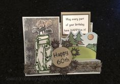 Sidestep card - happy 60th