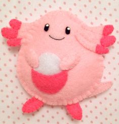 Chansey - Mini Pokemon Plush by AmyRosefan4eva.deviantart.com on @DeviantArt
