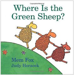 Where is the green sheep? One of my favorite books for pre-k about opposites. www.playwithjoy.com