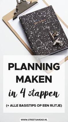 Kun jij wel een aantal concrete basistips over plannen gebruiken? Mooi! Dat is precies wat ik in dit artikel met je ga delen. Het bestaat uit drie onderdelen: eerst deel ik het basis stappenplan voor het maken van een planning. Hoe moet het en waar moet je rekening mee houden? Vervolgens deel ik mijn tips om een goede planning te maken, eentje die realistisch is en jouw productiviteit bevordert. Tot slot deel ik mijn tips voor het succesvol uitvoeren van de planning: hoe zorg je dat alles…