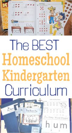 Kindergarten Curriculum for Homeschooling - Two Pine Adventure