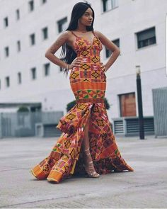 African prom dress, African clothing for women, Ankara gown, African gown, African maxi dr… – African Fashion Dresses - 2019 Trends African Prom Dresses, African Dresses For Women, African Attire, African Wear, African Women, African Dress Styles, African Style, African Clothes, African Masks