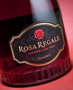 Rosa Regale Wine Label | Sterling Creativeworks