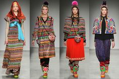 I AM FASHION !!!: Manish Arora Fall/Winter 2014 Womenswear