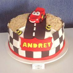 Cars Macqueem Cake