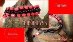 Las Manualidades de Roshalyss: pulsera exclusiva fashion