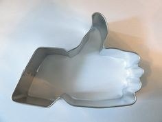 THUMBS UP  Cookie Cutter 4 inches long by almostnecessities on Etsy