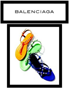 BALENCIAGA sandals available @  COSMOPOLITAN SHOES Double Bay, Sydney, Australia TEL: (02) 9362 0510  See what's in store here: TWITTER:  @CosmoShoesAU  or Cosmopolitanshoes.blogspot.com.au