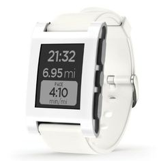Awesome Pebble Smart Watch for iPhone and Android Devices (Arctic White) Check more at http://techreviewsite.com/index.php/product/pebble-smart-watch-for-iphone-and-android-devices-arctic-white/