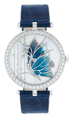 Van Cleef & Arpels Papillon reloj de la colección 2013.