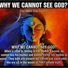 why we cant see god Hindu Quotes, Gita Quotes, Spiritual Quotes, Positive Quotes, Sanskrit Quotes, Vedic Mantras, Spiritual Guidance, Prayer Quotes, Religious Quotes