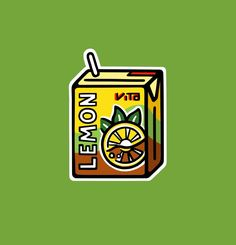 VITA Drink Sticker Series by ariellhchan on Etsy Graphic Design Illustration, Sticker Design, Marketing And Advertising, Craft Supplies, Shapes, Stickers, Drink, Handmade, Etsy
