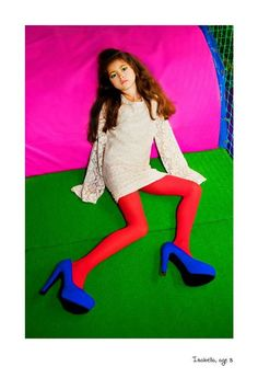 Vogue inspired test shoot by Sya Groosman