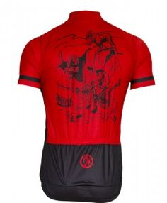 Going Through Hell Limited Edition SS Mens Cycling Jersey back