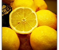Use lemons to remove water stains.