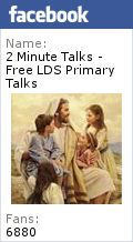 The Holy Ghost Speaks in a Still Small Voice - Free LDS Primary Talks