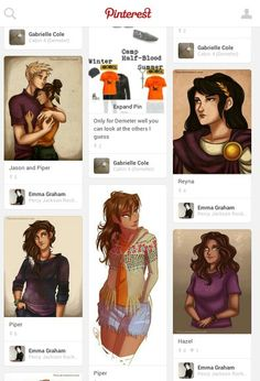 So I was scrolling through my feed and I saw Reyna looking at Jason and Piper all jealous-like and I kinda got sad. <----  Lol