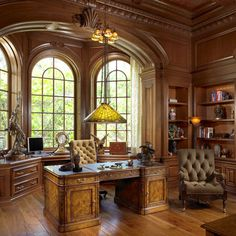 beautiful study room