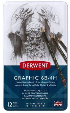 These are my all time favorite Derwent Graphic drawing pencils. Graphite Drawings, Pencil Drawings, Cool Drawings, Watercolor Pencils Techniques, Derwent Pencils, Three Primary Colors, Best Pencil, Artist Pencils, Artist Materials