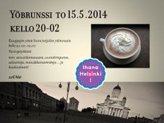Yöbrunssi tulee taas! Helsinki, Restaurant, Movies, Movie Posters, Art, Art Background, Film Poster, Films, Popcorn Posters