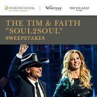 "The Tim & Faith ""Soul2Soul"" Sweepstakes from InterContinental Hotel & Resort; enter for your chance to win!"