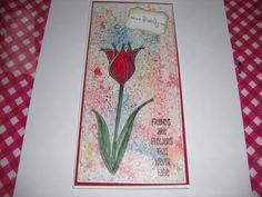 PaperArtsy stamps with Brushos