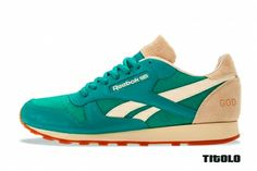 I want these for me!!! Reebok Classic Leather Lux \Burn Rubber\