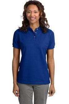Port Authority Womens Port Authority Ladies Pique Knit Polo L420 XXL Royal >>> Click image to review more details.Note:It is affiliate link to Amazon. #tagsforlikesfslc